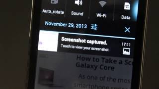How to Take a Screenshot on ZTE Blade 3
