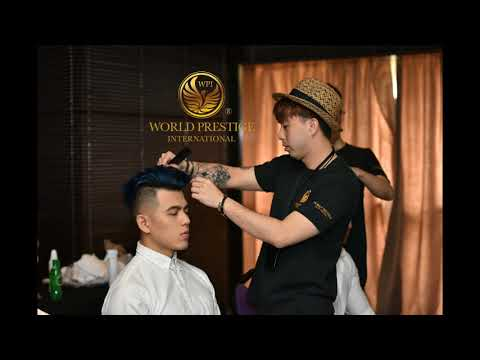 Official Hairstylist For Mister World Prestige International 2018 - Peekaboo Malaysia