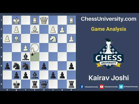 Meet the Instructors! Game Analysis with Kairav Joshi