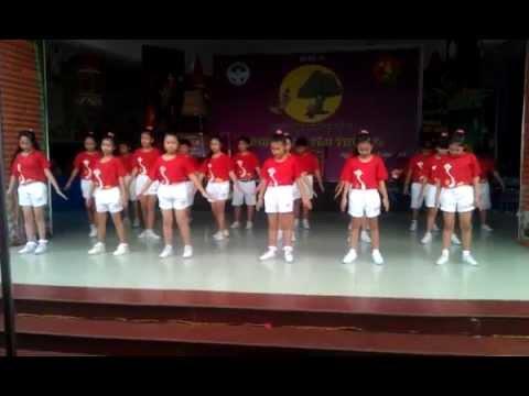 Giải nhất múa dân vũ năm 2014- Trường Tiểu Học Lê Văn Thọ -Q12.