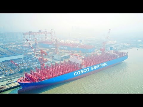 Ultra-large Container Ship To Strengthen China's Position In Shipbuilding Industry