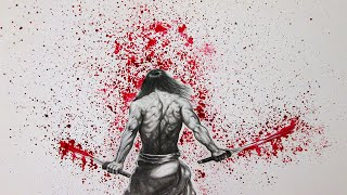 Drawing a Samurai