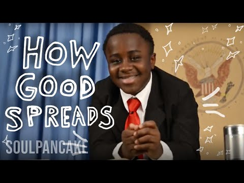 Kid President + Glad to Give present How Good Spreads