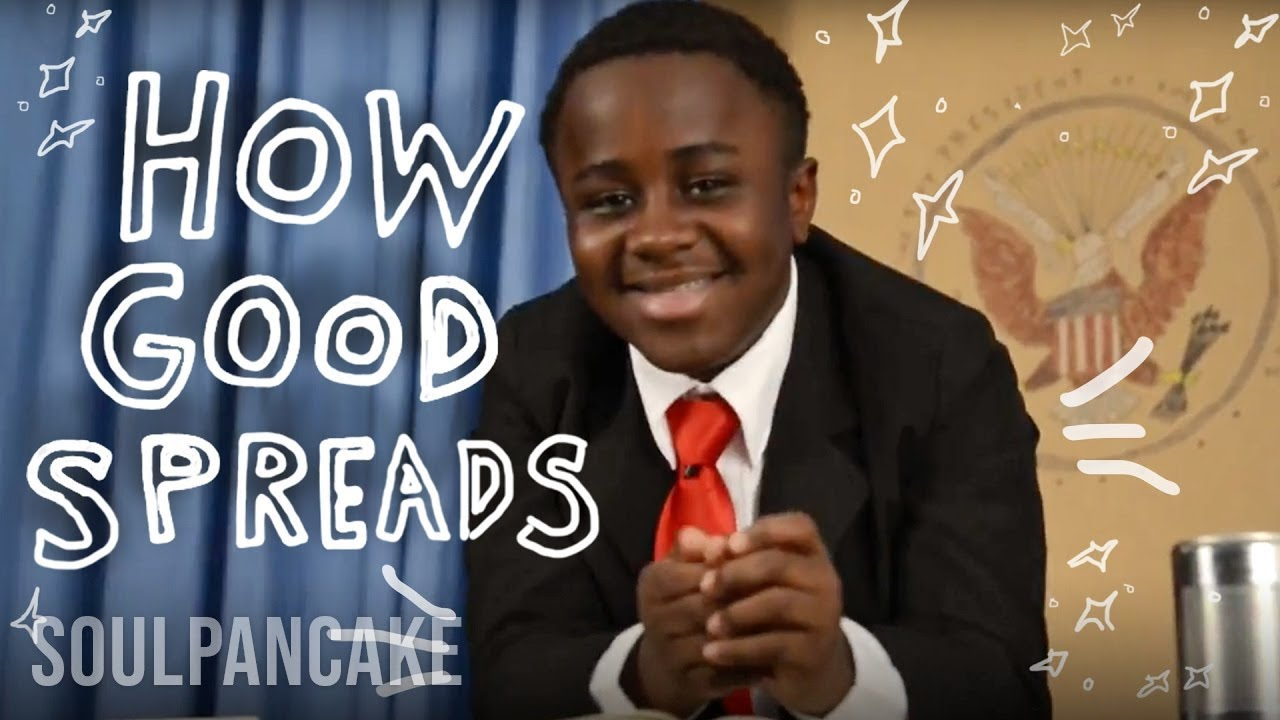 Kid President + Glad to Give present How Good Spreads - YouTube