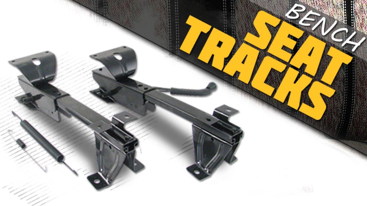 Lmc Truck Bench Seat Track Set For 69 72 Chevy Gmc Trucks