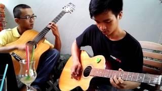 Dừng Bước Giang Hồ - Hoàng Trọng (Guitar Cover).3gp