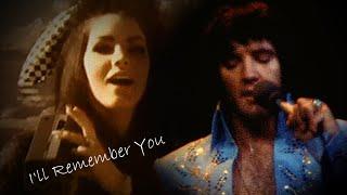 ELVIS PRESLEY - I'll Remember You  (Live at Madison Square Garden, 1972) New Edit 4K