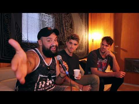 None - Interviewing The Chainsmokers at Bunbury 2018