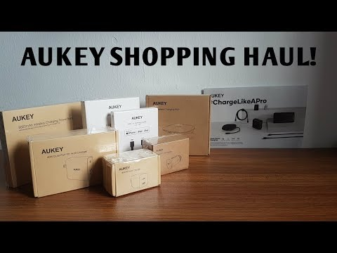 AUKEY TECH HAUL! - REVIEW & UNBOXING