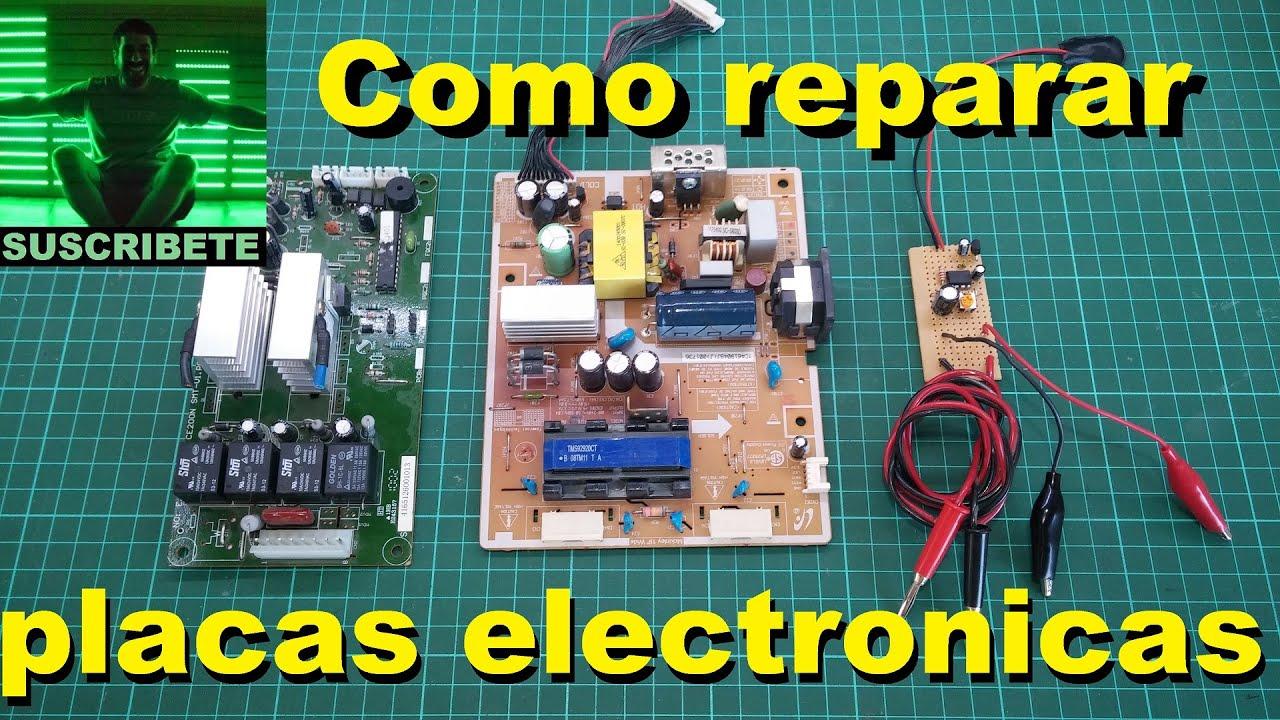Como reparar placas electronicas youtube - Reparacion de placas electronicas ...
