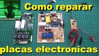 como reparar placas electronicas