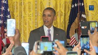 Obama At Muslim Eid al Fitr Reception - Full Speech