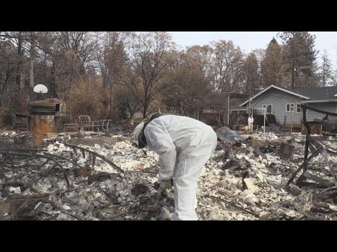 Inferno in Paradise: One month on, California residents return