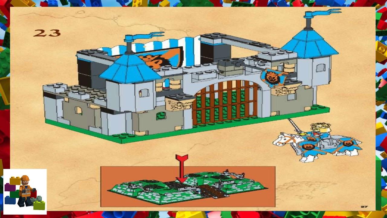 Lego Instructions Castle Knights Kingdom 6098 King Leos