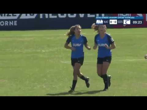 Girls' Development Academy Spring Showcase: U-14 Nationals vs. San Diego Surf