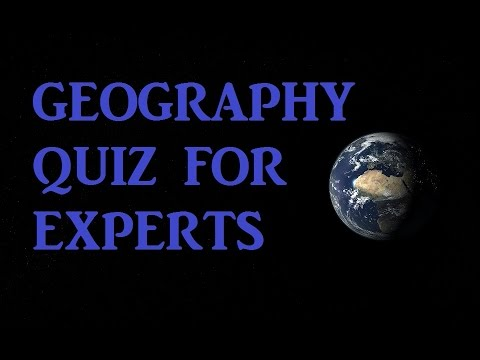 [PART 1] World Geography Quiz for Experts! | Testing Your Neurons