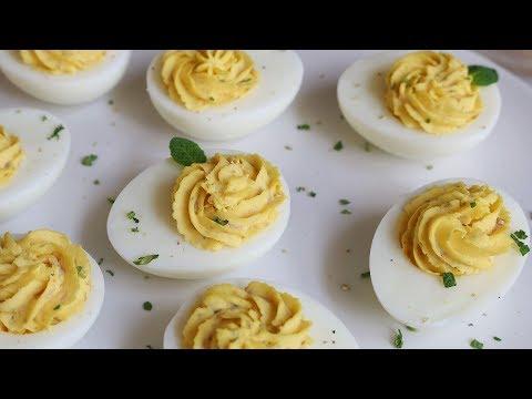 [ENG CC] 간단한 핑거푸드👌🏼, 스터프드 에그 l 파티음식 : Stuffed Egg l Deviled Egg [아내의 식탁]