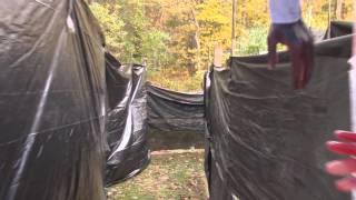 2015 Backyard Haunted House Daytime Walkthrough (almost complete)