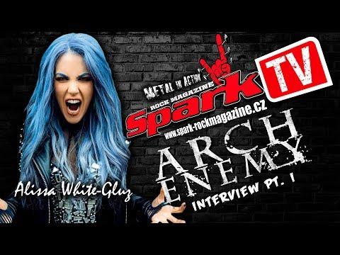 ARCH ENEMY - vocal range of Alissa - interview
