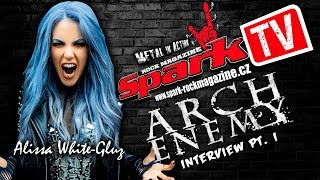 Exclusive Spark TV's interview with singer Alissa White-Gluz of mel...