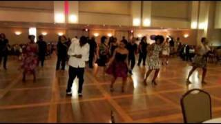 Chuck Baby Line dance at the Houston High Steppers 2nd Annual Fashions In Dance