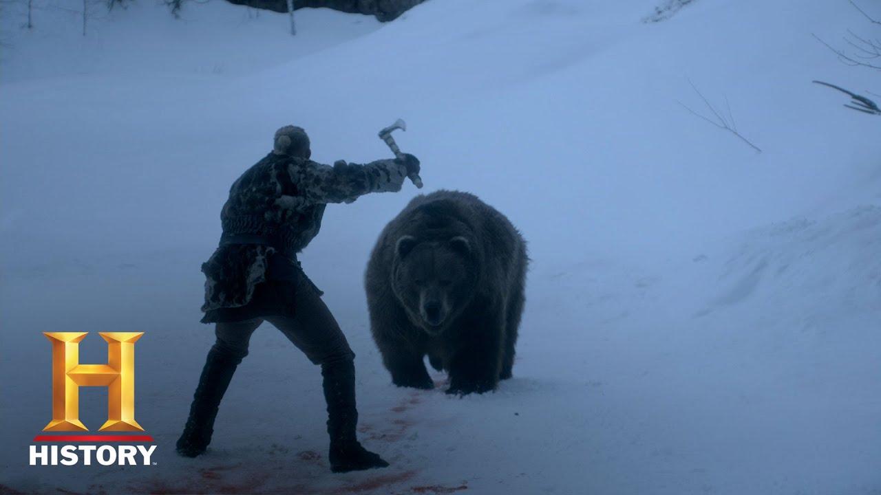 Download Vikings: Bjorn's Grizzly Battle (Seasons 4, Episode 3) | History