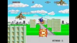 Super Thunder Blade Longplay (Mega Drive/Genesis) [60 FPS]