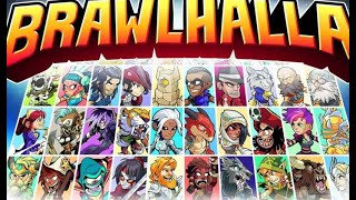 Playing amazing online multiplayer fighting game....Brawlhalla Gameplay I.....(No Promotion)