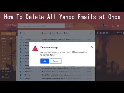 How To Delete All Yahoo Emails at Once 2019 in Few Minutes