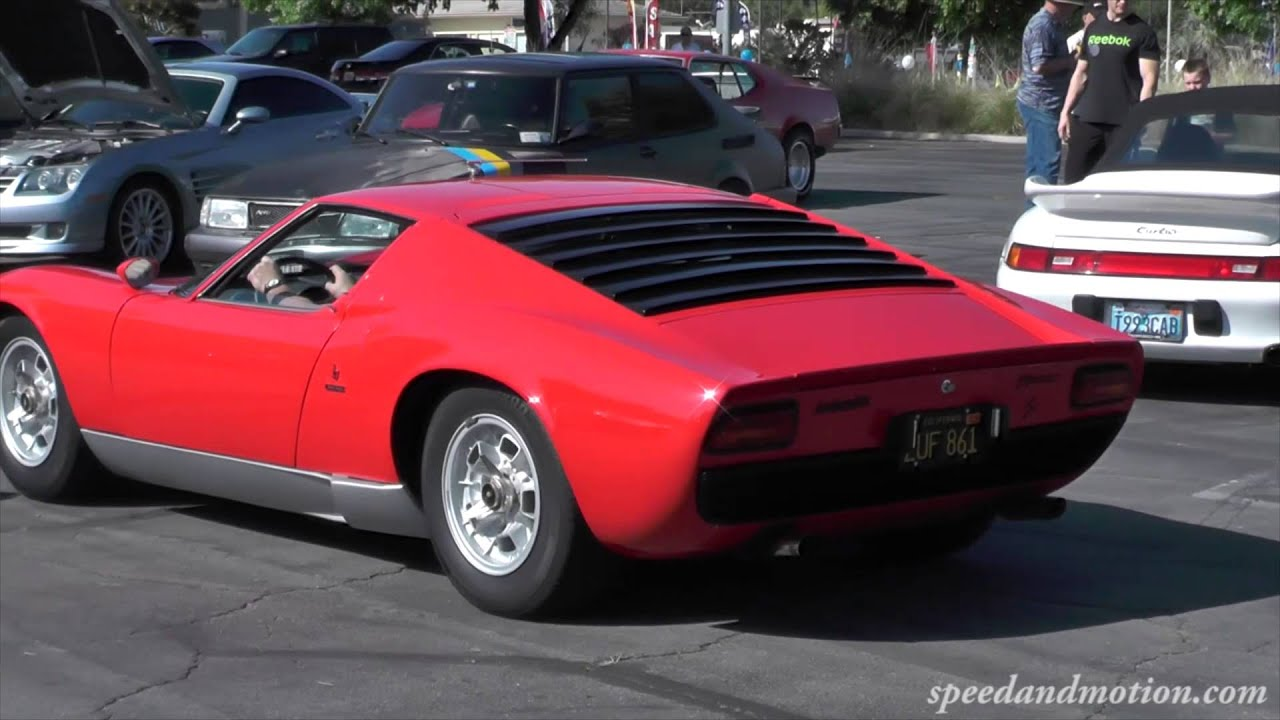 Old Or New Lamborghini Miura S Or Aventador Youtube