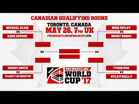 Canada Qualifier: Pro Wrestling World Cup - Full Show - Feat. Mike Elgin, Rene Dupree, Harry Smith