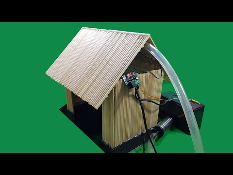 Build a mini Automatic House Fire Prevention