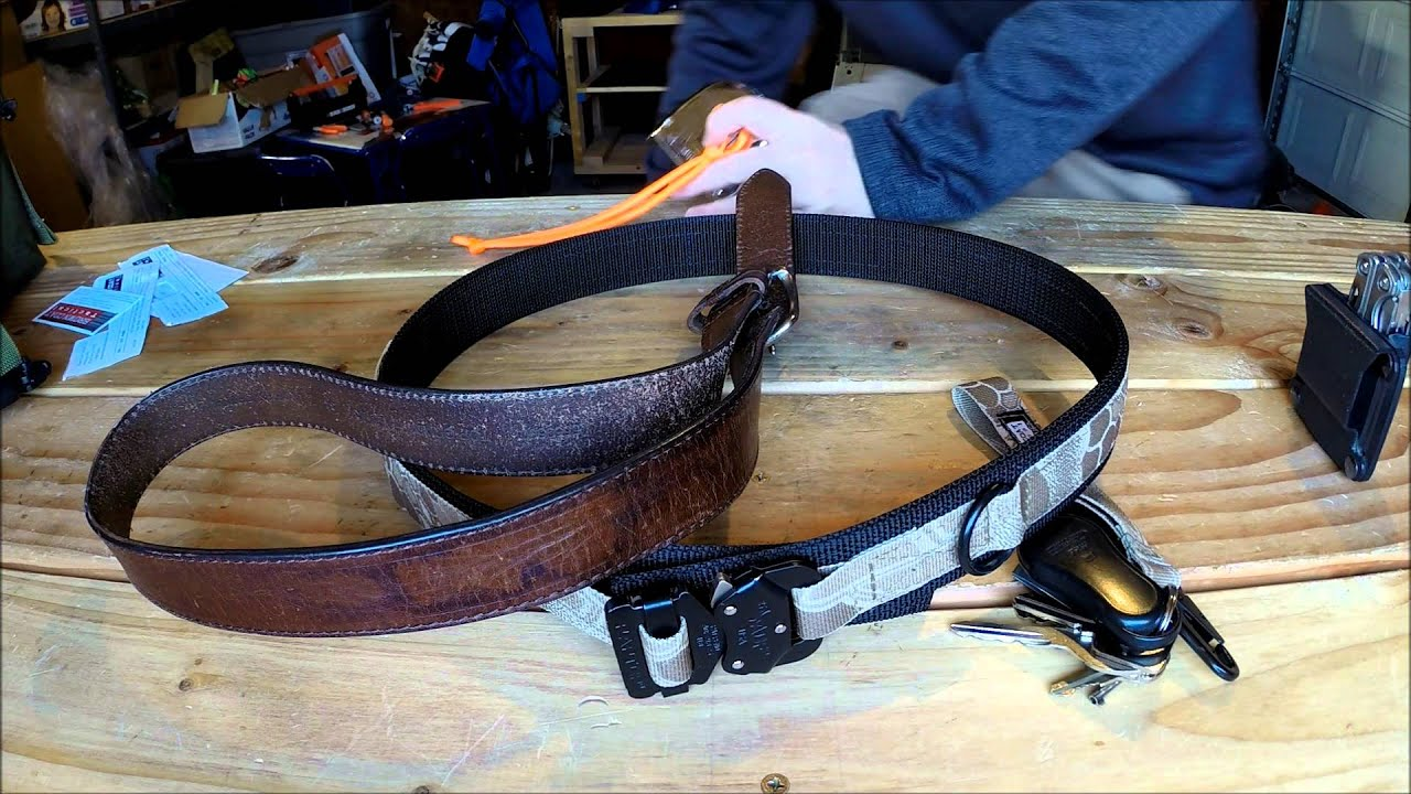 Review: Brown Coat Tactical EDC Belt and Milspec Keychain Fob ...