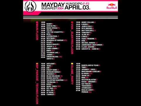 mayday 2004 Budapest (DJ Newl)