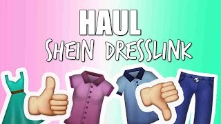 Dresslink & SheIn HAUL - Got what i asked? 🛍
