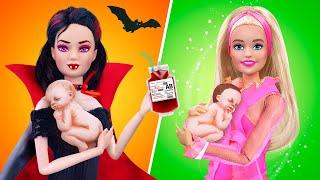 12 лайфхаков и поделок для беременных Барби и малышей
