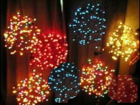christmas light balls greensboro nc youtube - Christmas Light Balls For Trees