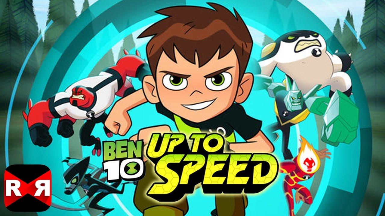 Ben 10: Up to Speed – Omnitrix Runner Alien Heroes - iOS / Android ...