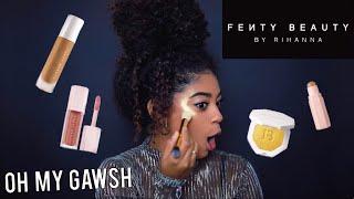 FENTY BEAUTY BY RIHANNA | FULL FACE + REVIEW | jasmeannnn