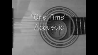 �������� ���� One Time Justin Bieber Acoustic Version Cover Karaoke with Lyrics ������