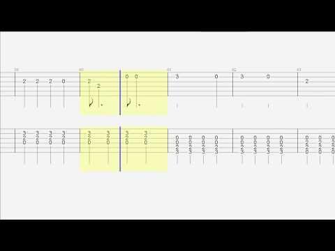 Guitar Duet - tab - All of Me - John Legend - Slow version