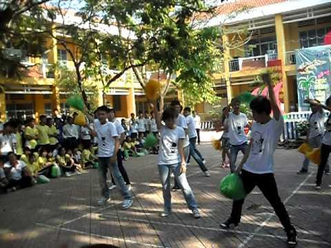 Thể dục đồng diễn K11 - Trại xuân 2011 - BĐ