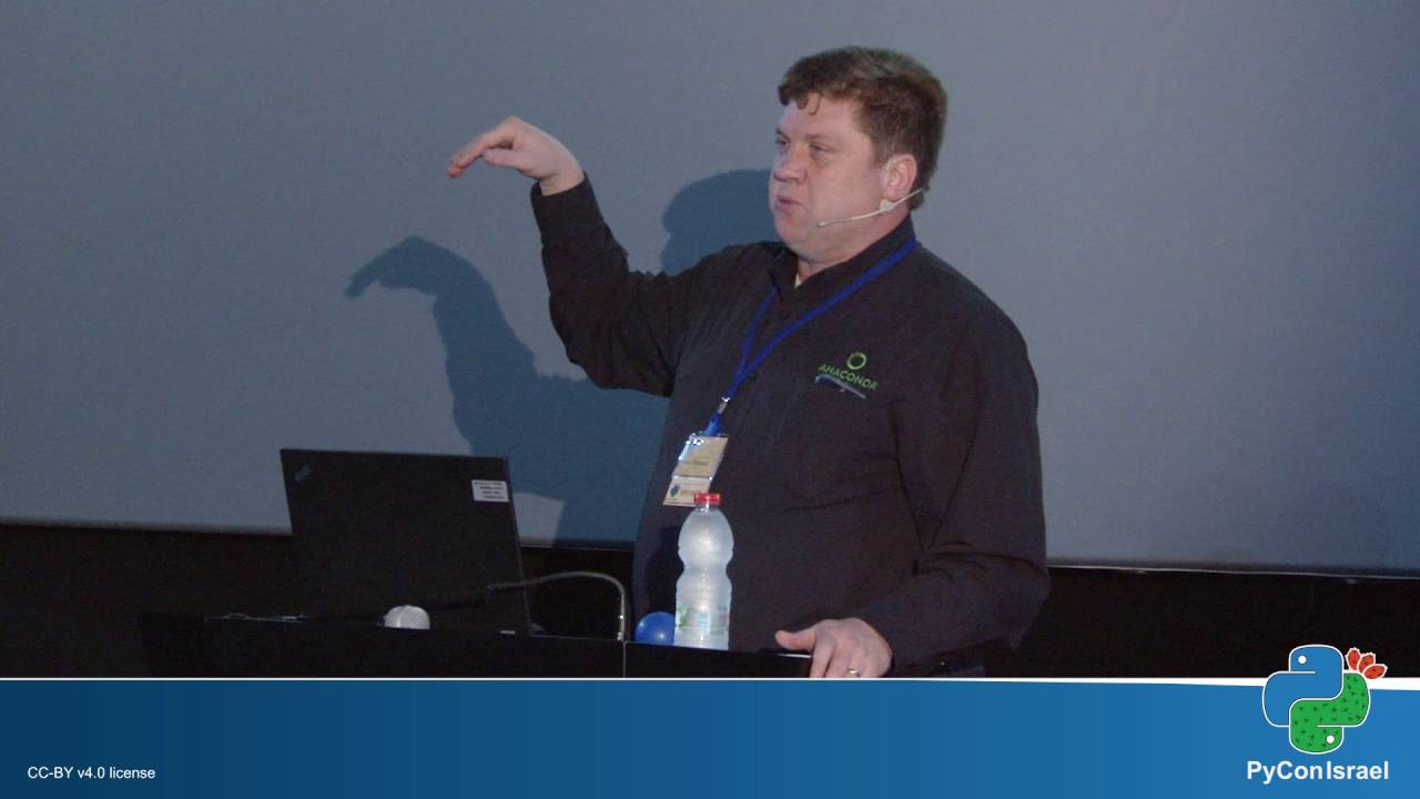 Image from Keynotes: Scaling PyData Up and Out with Anaconda