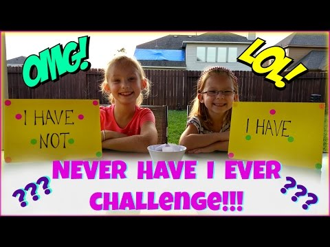 NEVER HAVE I EVER CHALLENGE - Magic Box Toys Collector