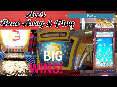 Aces IN Monroeville PA Price is Right Coin Pusher & Fishbowl Frenzy Jackpots! Arcadejackpotpro