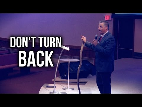 """Don't Turn Back"" - Pastor Jack Leaman"