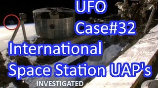 Space Station Live Feed UFO's Investigated - The Out There Channel UFO Case#32 (27Jan2018)