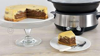 Cheesecake cu ciocolata facut la Crock-Pot | JamilaCuisine