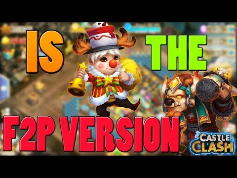 LIL NICK IS THE NEW F2P MINOTAUR? (HERE IS WHY) - CASTLE CLASH