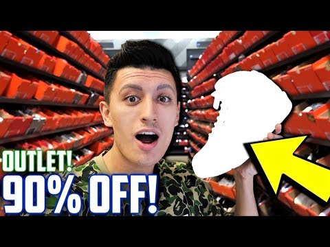 90% OFF SNEAKERS FOUND AT THE NIKE OUTLET! CHEAP SUMMER SNEAKER SHOPPING!